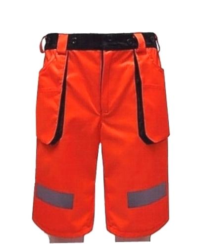 fa160fbbdaf8 ORANGE - krátke pracovné cestárske nohavice