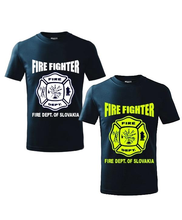 75d12d06662b US FIRE - pánske hasičské tričko